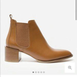 Everlane The Heel Boot Cognac